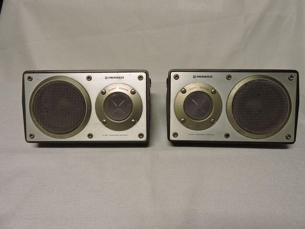 Pioneer TSX9 40W 4 ohms Surface Mount Bookshelf Speakers
