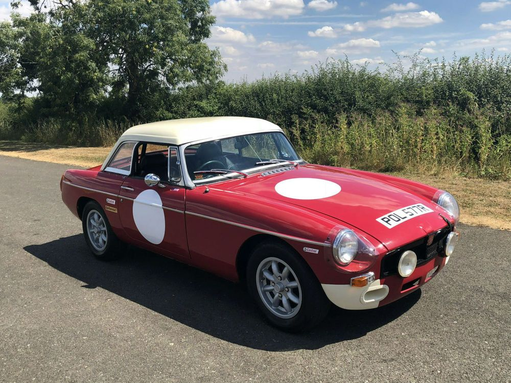 eBay 1977 MGB Roadster Rally Car Evocation. Factory Style