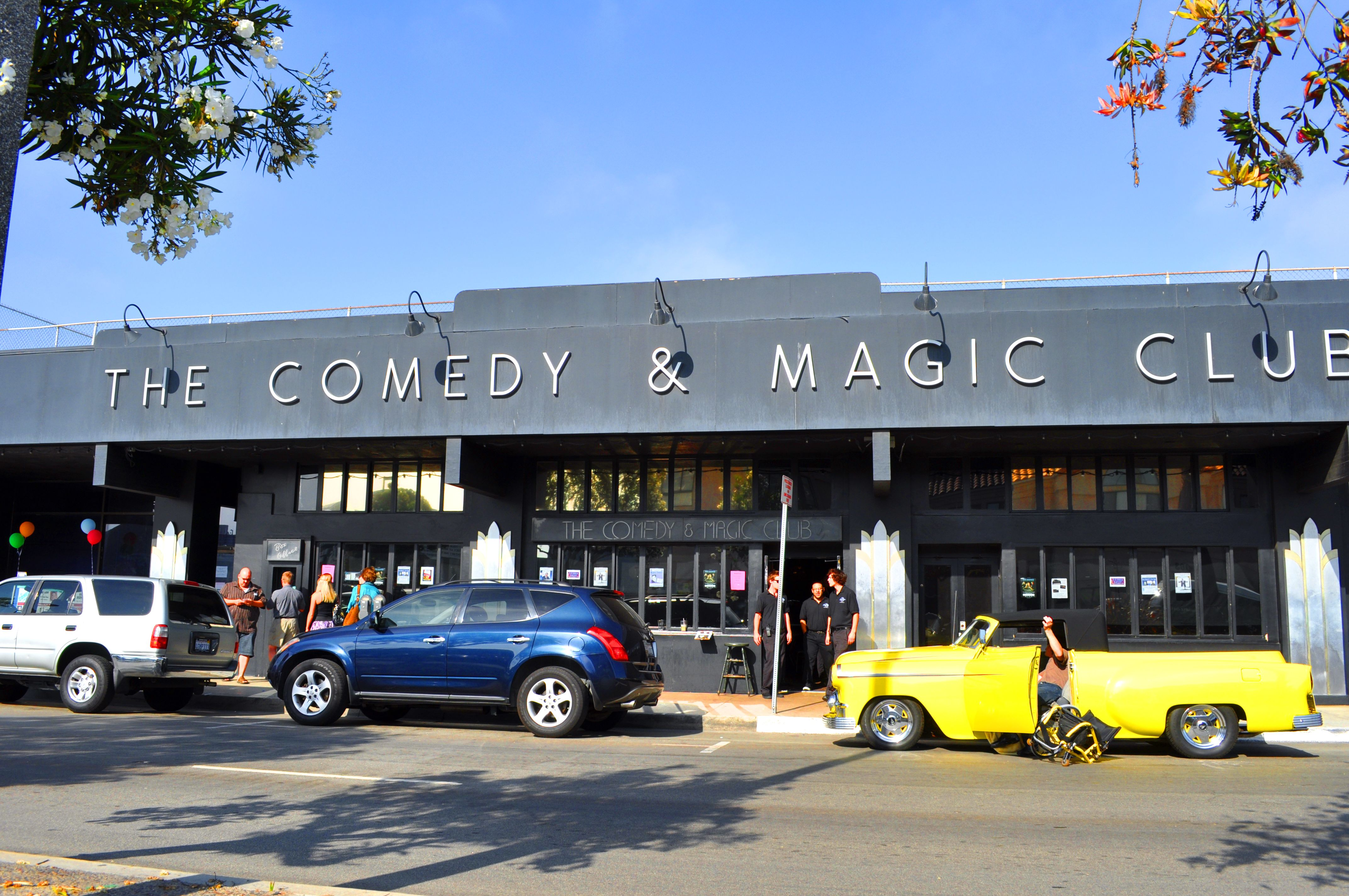 The Comedy and Magic Club A famous