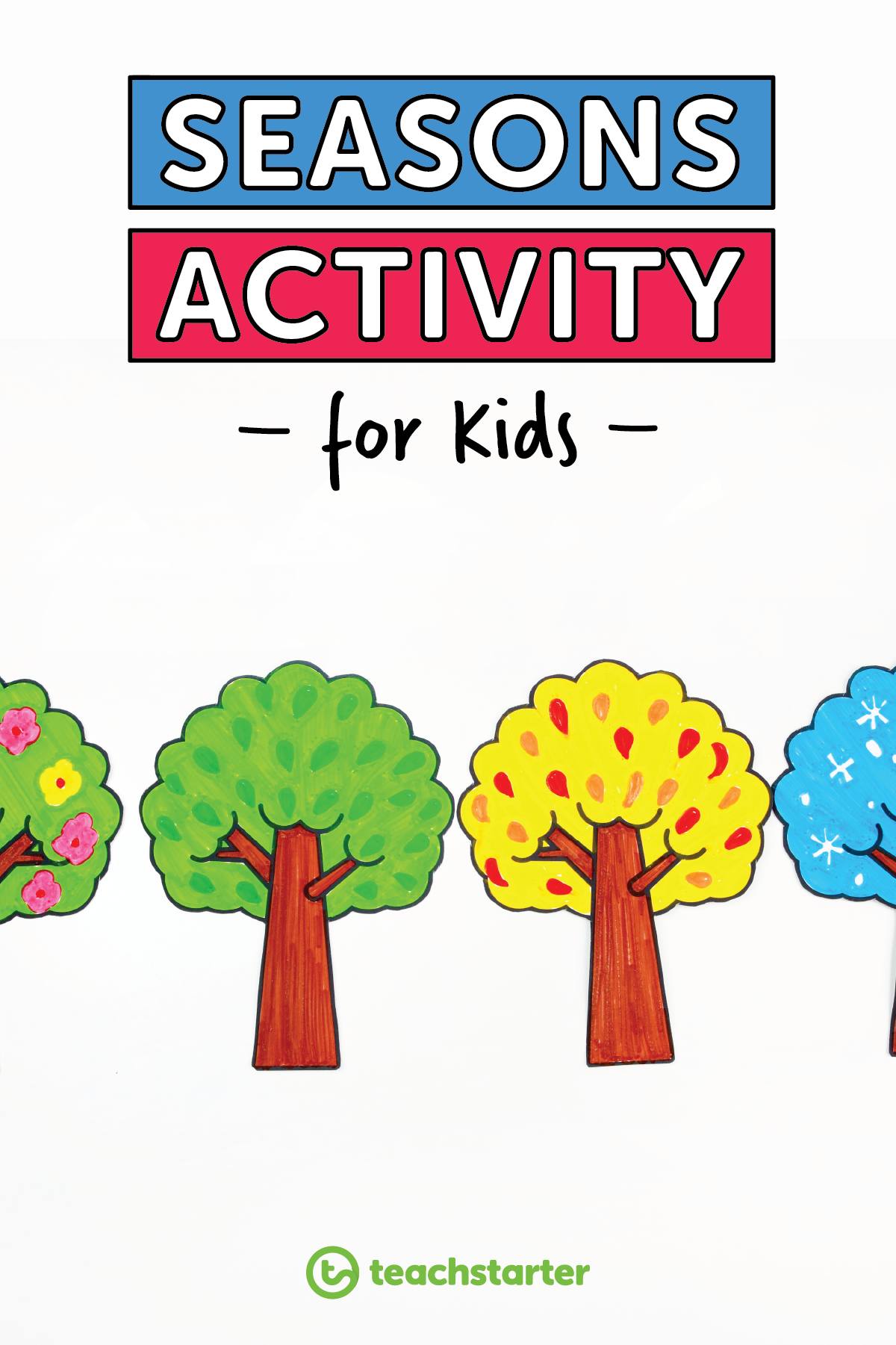 Four Seasons Tree Activity Teaching Resource In With