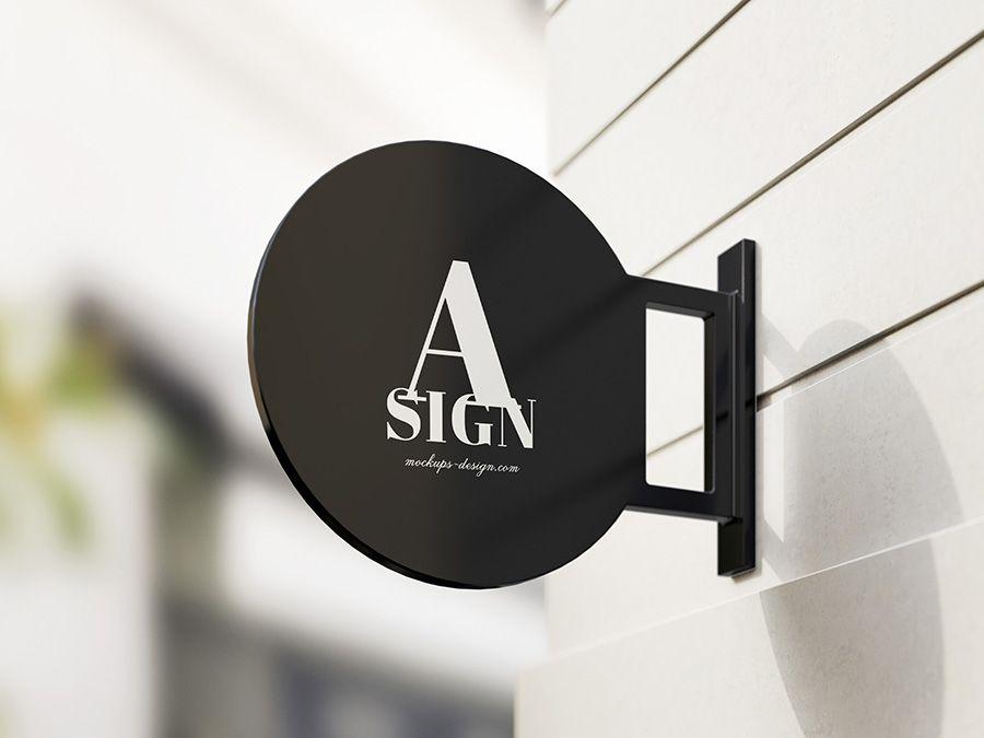 Free Sign Mockup Mockups Design Sign Mockup Sign Mockup Free Sign Board Design