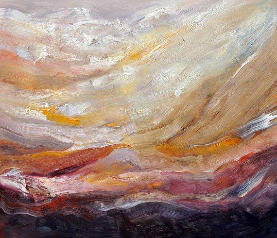 "Unikat ""flowing landscapes"" Ölgemälde auf Leinwand #kunstlebenberlin #masch"