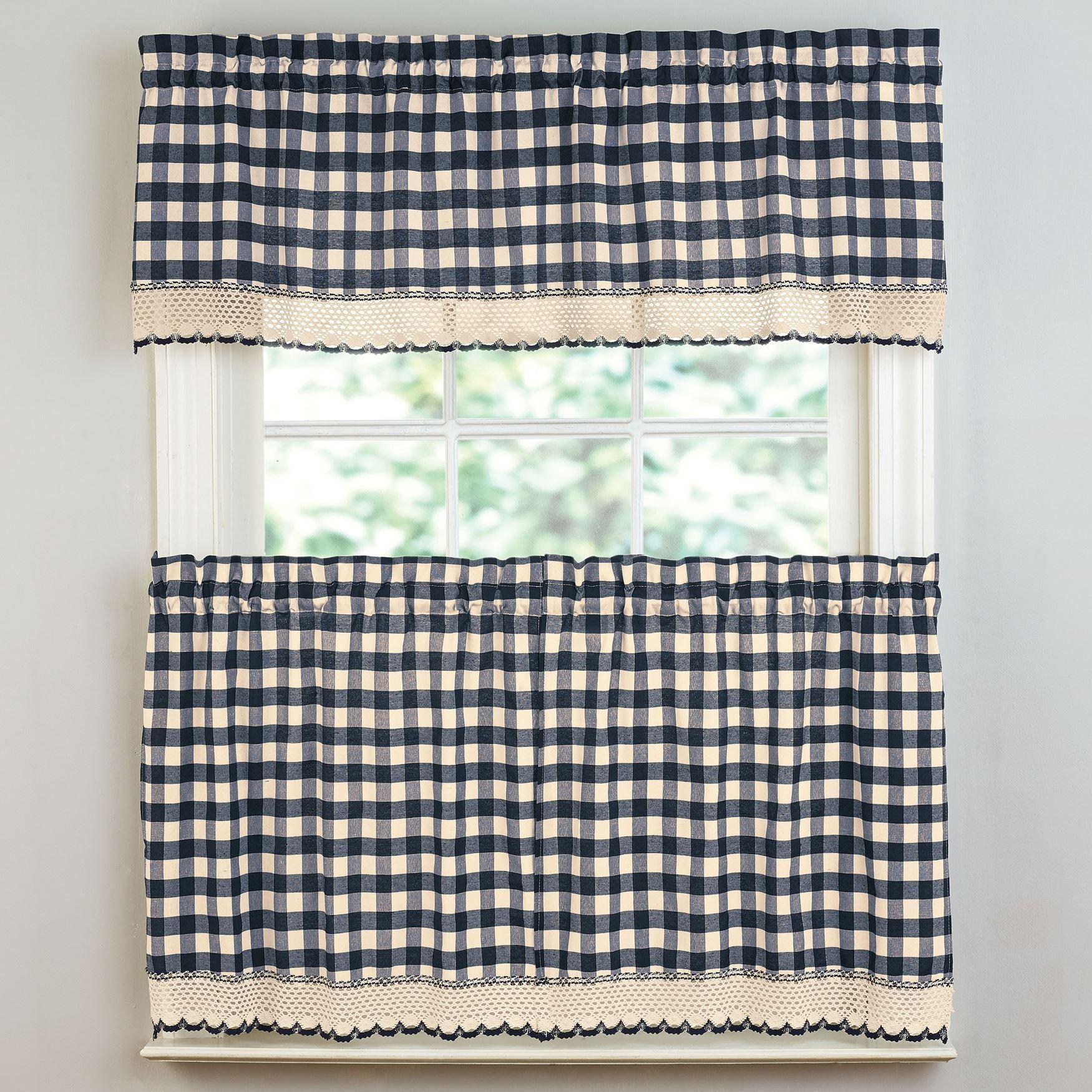 Buffalo Tier Curtain Window Brylanehome Doublecurtainsideas