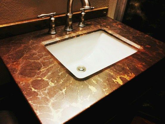 Epoxy Countertop Bathroom Vanity Epoxy Countertop Bathroom
