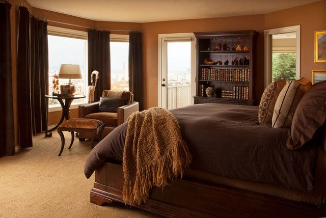 Warm Caramel Bedroom Possible Master Bedroom Idea The