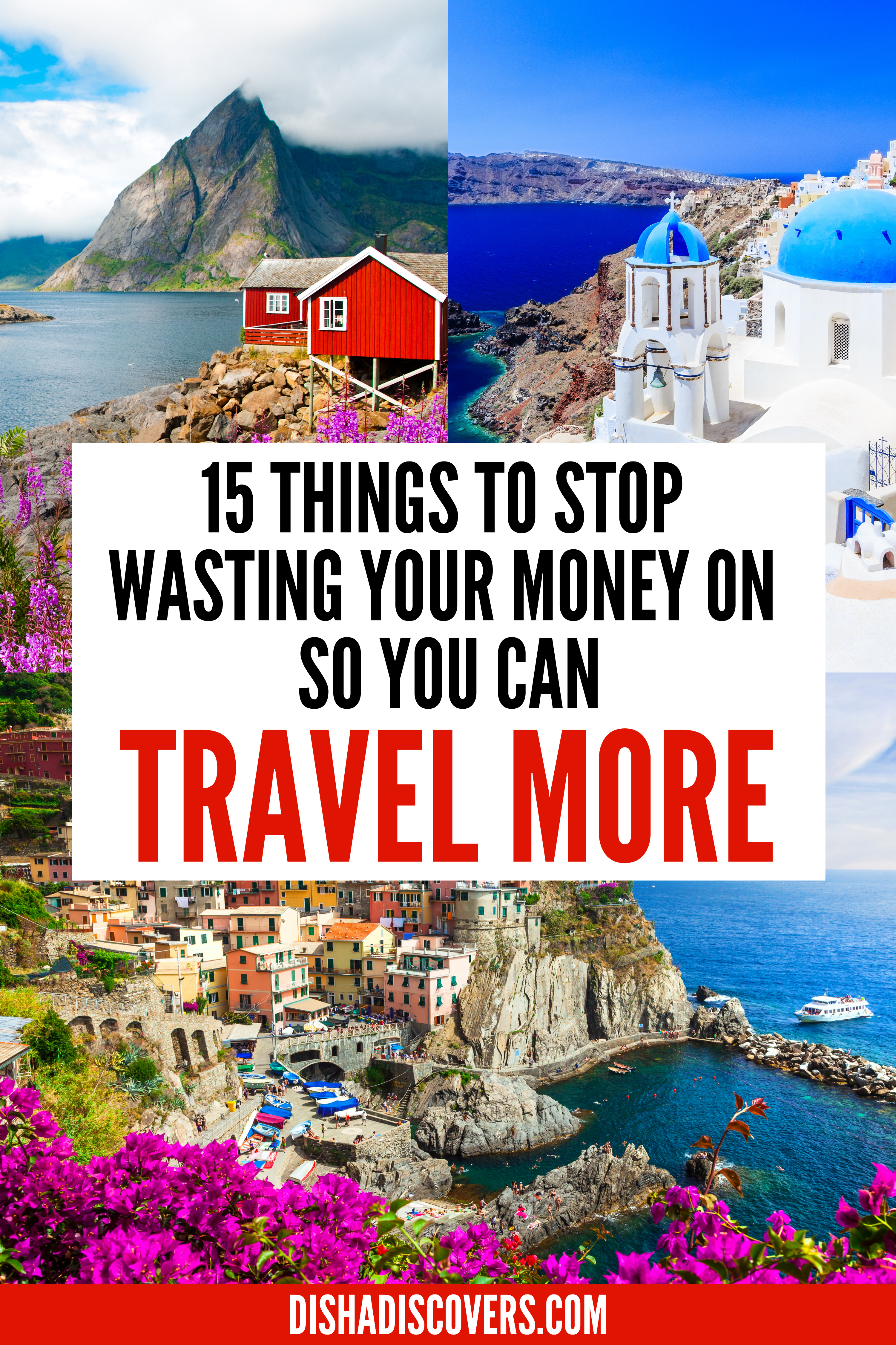 15 Unnecessary Expenses to Cut so You Can Afford to Travel - Do you want to travel more, but money is stopping you? Here are 15 unnecessary expenses you are wasting your money on that you can save for travel. #traveltips #savemoneyfortravel #traveltipsandtricks #travelhacks #travelbudget #travelbudgettips #travelbudgetsavingmoney #traveltipsmoney
