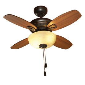 allen roth 32 in laralyn oil rubbed bronze indoor ceiling fan with rh pinterest com Home Depot Ceiling Fans Ceiling Fans with Remote