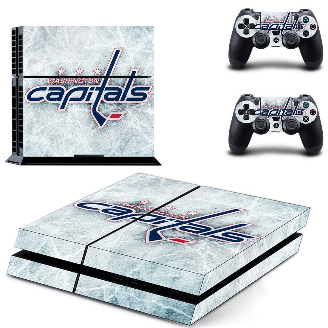 Washington Capitals Ps4 Skin Decal For Console And Controllers Ps4 Skins Ps4 Skins Decals Ps4 Skins Stickers