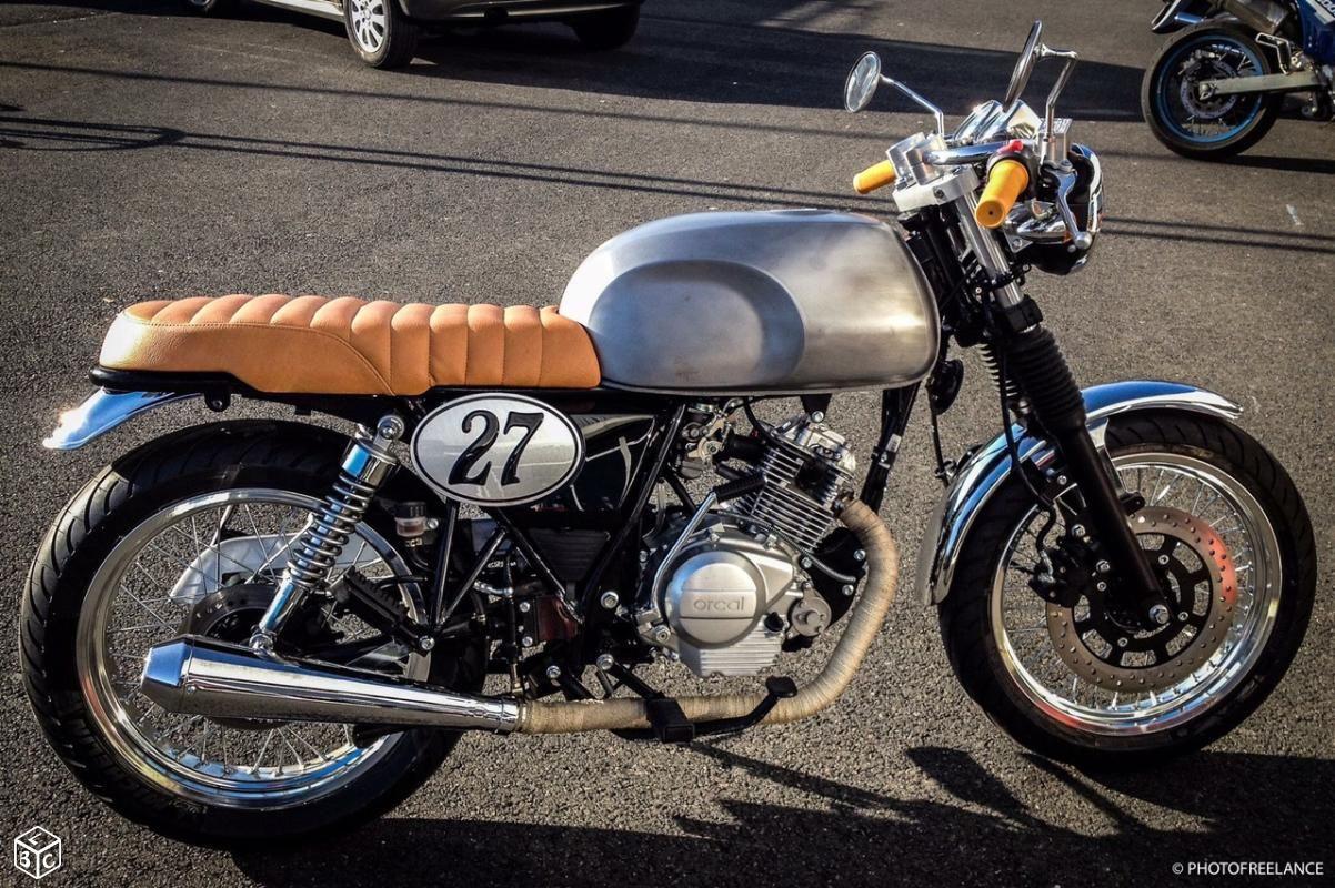 Astor Orcal Cafe Racer Vintage Motos Indre Et Loire