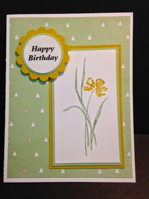 A Love Sympathy Birthday Card Rubber Stamping Birthdays And Cards