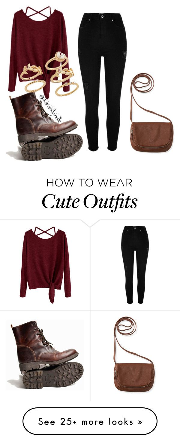 """Cute Fall Outfit"" by diavianshanelle on Polyvore ..."