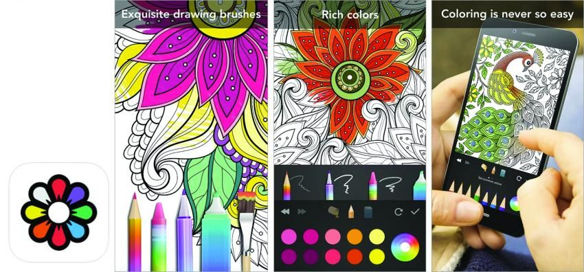 The 10 Best Apps For Coloring On The Go Best Apps Color Coloring Apps