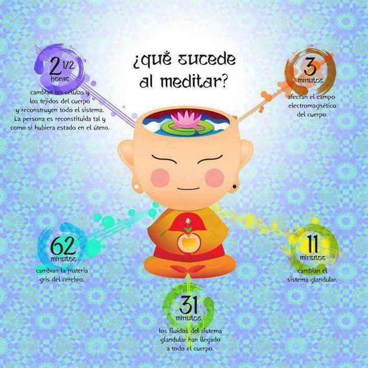Que sucede al meditar?