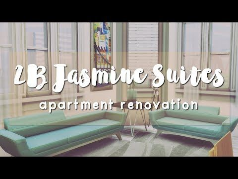 The Sims 4 Apartment - 2B Jasmine Suites | The Sims 4 Builds ...