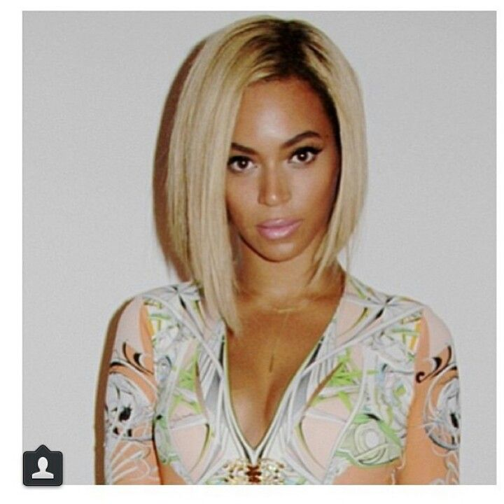 Pin By Mia Rutherford On Celeb Shots Hair Styles Beyonce Hair Blonde Bob Hairstyles