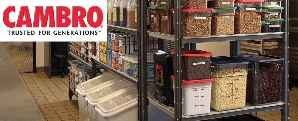 Restaurant Kitchen Storage cambro restaurant supplies | etundra | commercial kitchen design