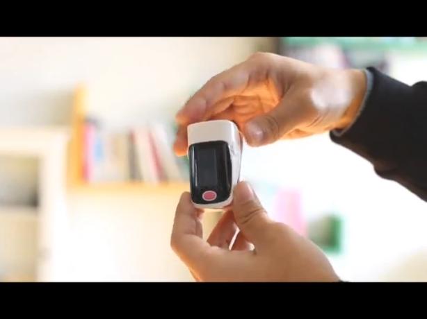 Yongrow Pulsioximetro Oximetro Finger Pulse Oximeter De