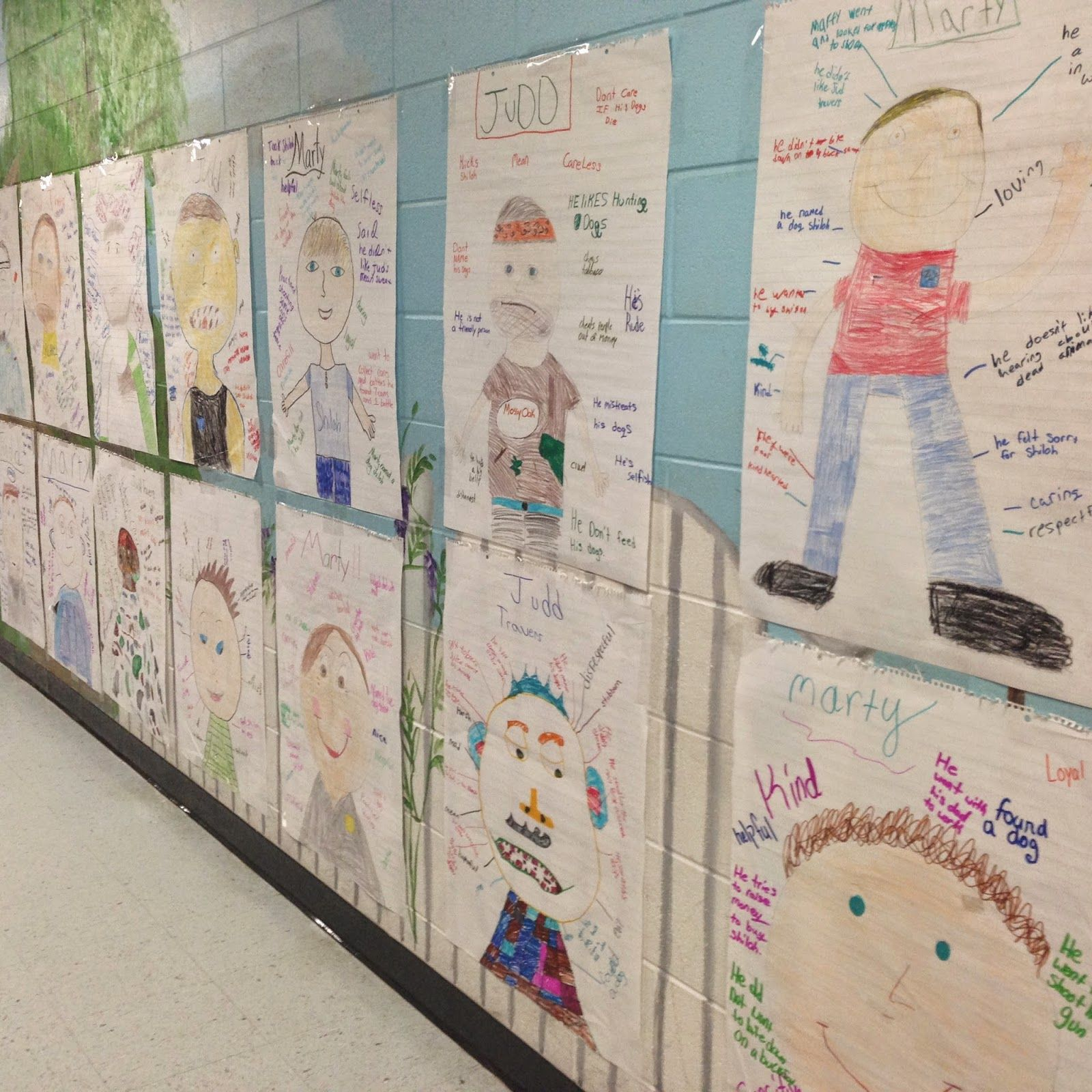 Life In Fifth Grade October Character Traits