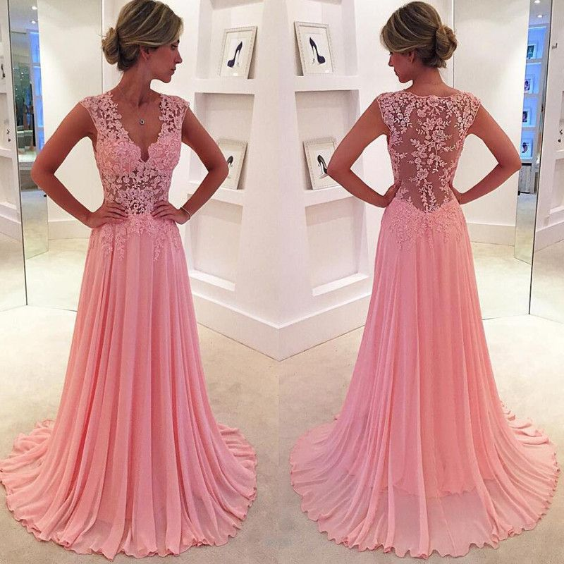 Prom Dress,Prom Dresses Scoop Full Sleeve Backless Sweep Train ...