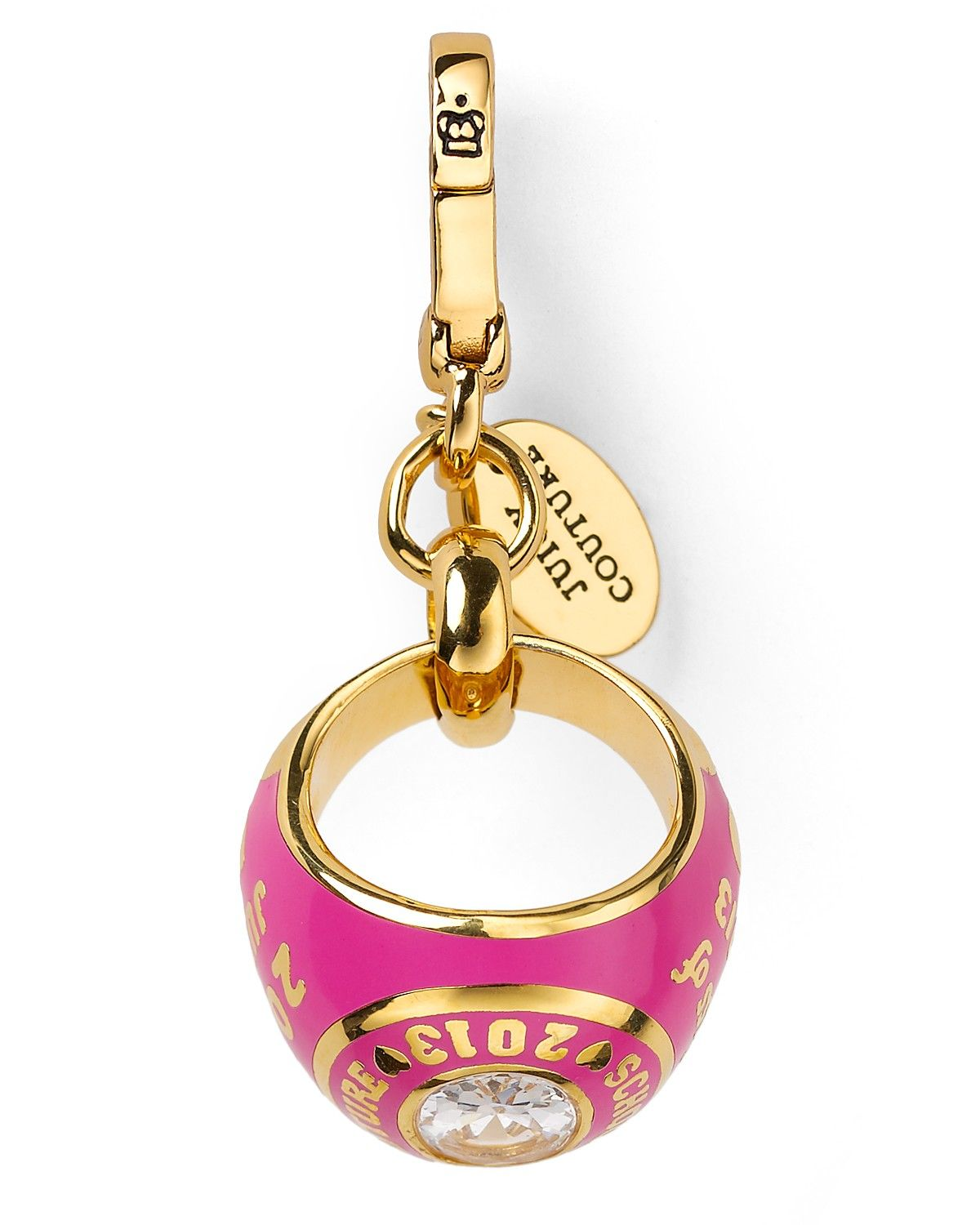 Juicy Couture 2013 limited edition (graduation) Class Ring Charm