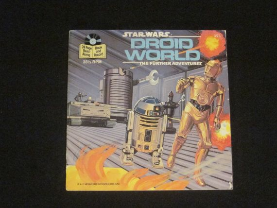 Star Wars Droid World Book and Record Read-Along by HobbitHouse