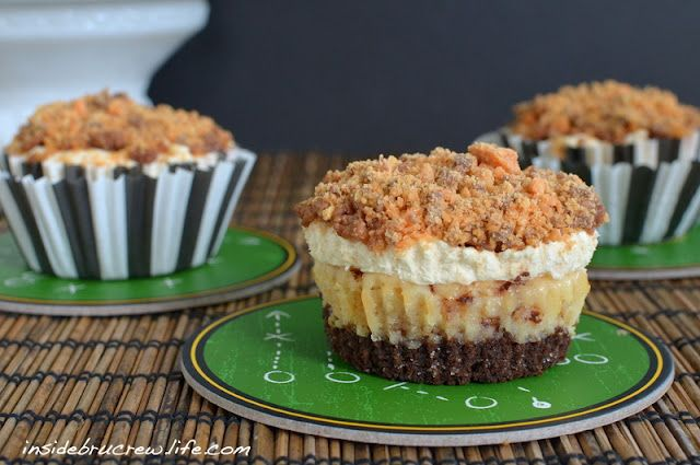 Inside BruCrew Life: Butterfinger Mousse Cheesecakes