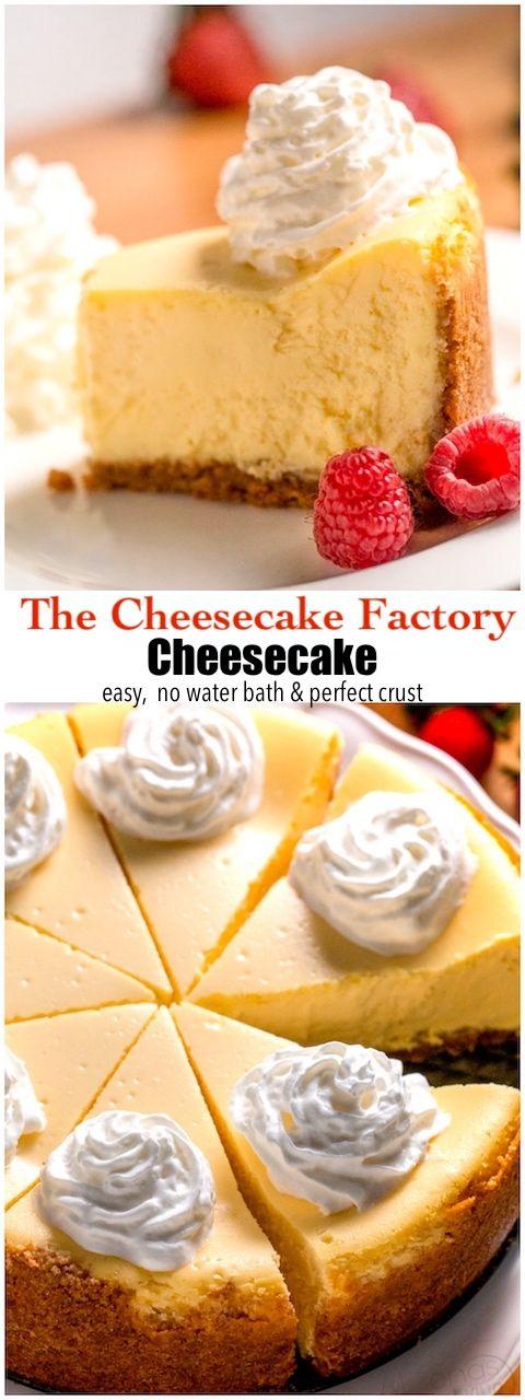 Cheesecake Factory Cheesecake -   16 desserts Cheesecake treats ideas