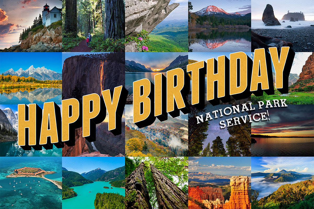 Celebrating 100 years of National Parks FindYourPark