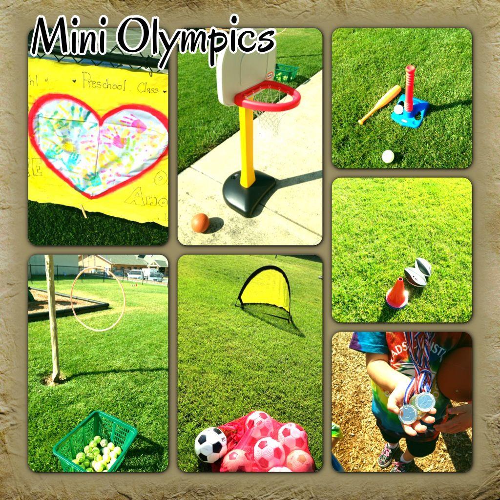 Preschool Mini Olympics Make A Class Mini Olympic Flag