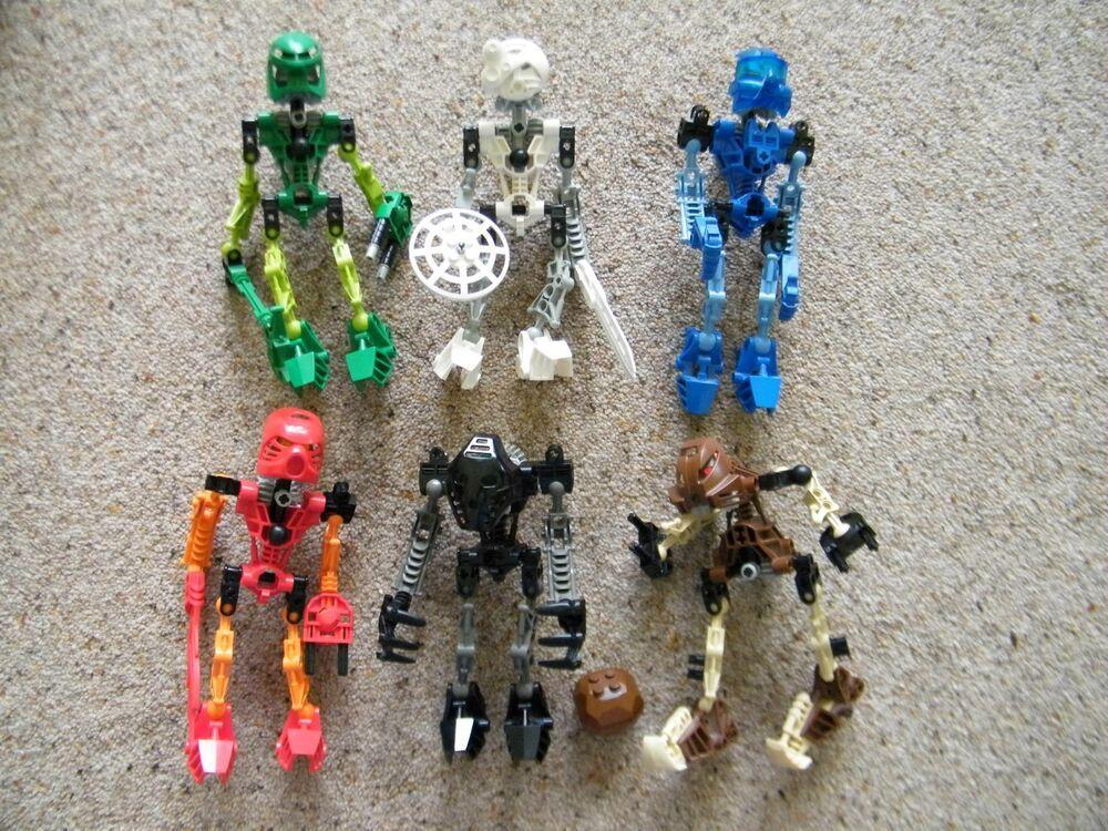 eBay #Sponsored Lego Bionicle Assembled TOA MATA Figures