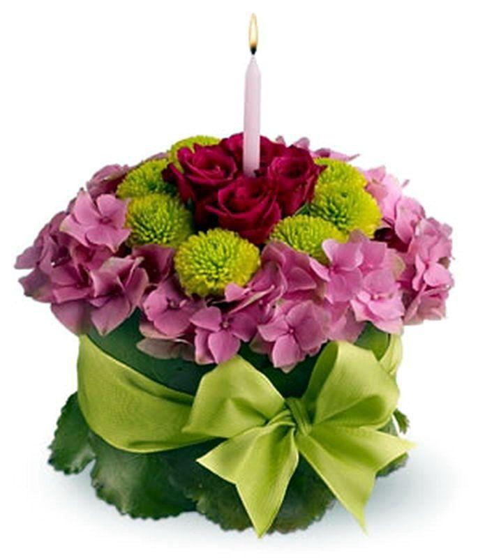 Flower cake Floral Arrangements Pinterest Flower Cake and
