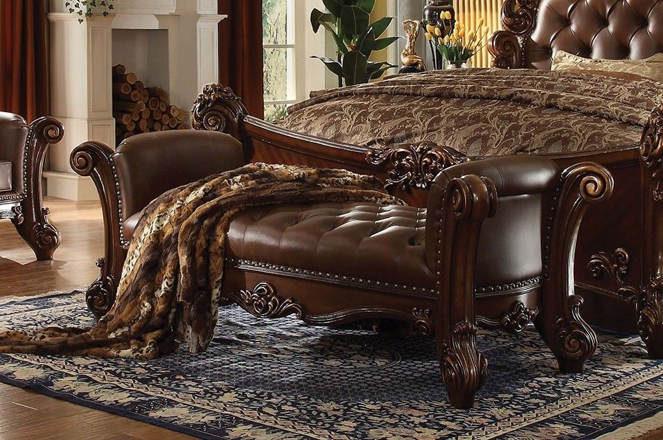 The Vendome Cherry Bench Leather Furniture That I Love
