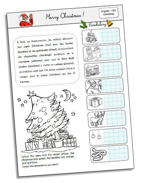 Merry christmas anglais ce2 cm1 cm2 pinterest anglais ce2 anglais et cm1 cm2 - Christmas cycle 3 ...