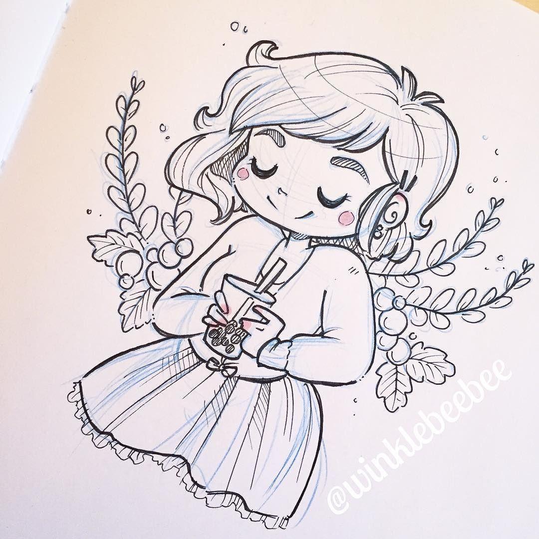 Character Design Instagram : Character design instagram by winklebeebee drawing