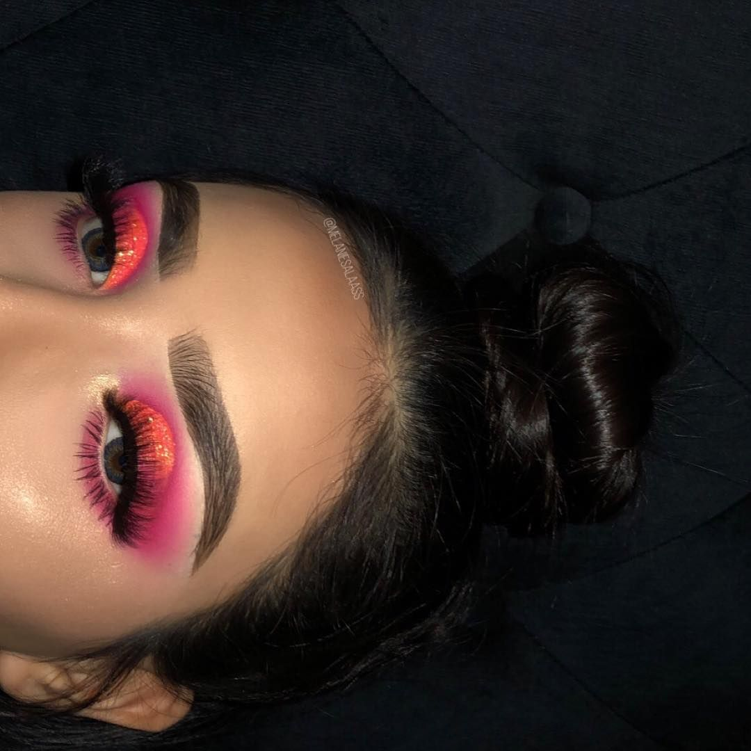 "Melanie Salas on Instagram: ""Look at how bright the eyeshadow looks"