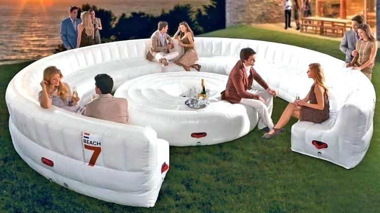 Inflatable Furniture Ikea Inflatable Outdoor Circular Couch