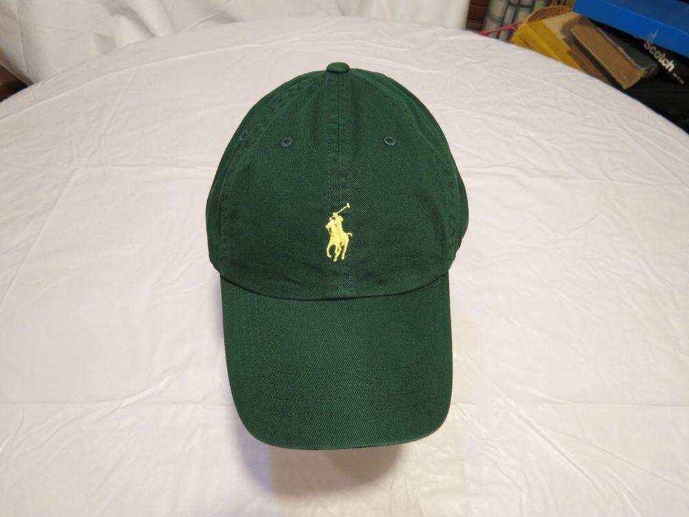 8907c9b48c03f Mens Polo Ralph Lauren hat cap golf casual 6508263 green yell adjustable  classic #PoloRalphLauren #cap