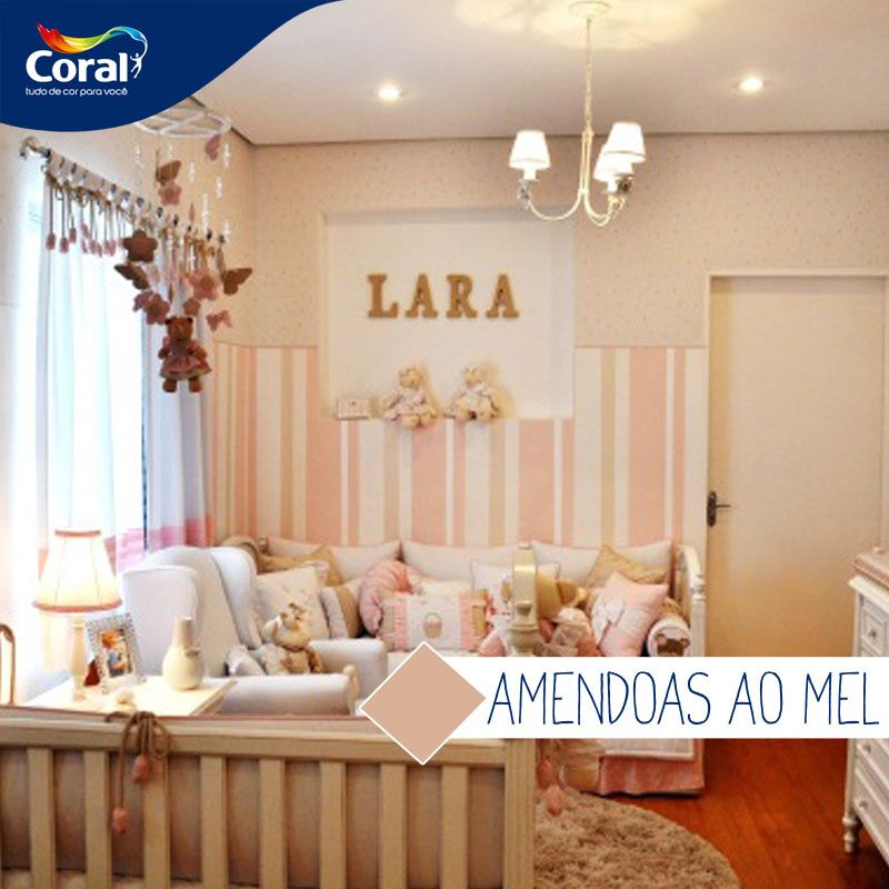 Quarto De Bebe Rosa Claro 2 · Baby BedroomBabies RoomsAliceLight PinkWalls InteriorArchitectureIdeas Part 78