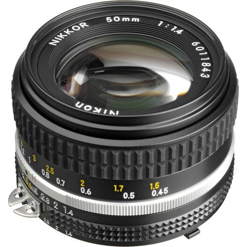 nikon nikkor 50mm f 1 4 ais manual focus lens 1433 b h photo my rh pinterest com best nikon dslr for manual focus lenses best nikon manual focus lens