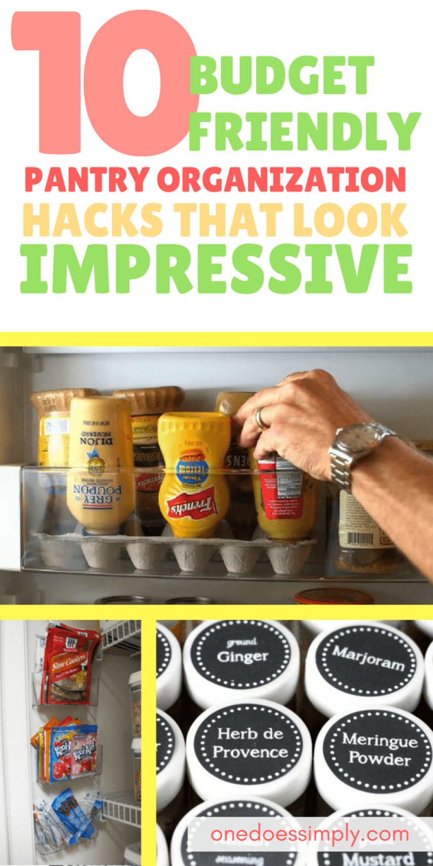 10 budget friendly pantry organization ideas that looks impressive 10 budget friendly pantry organization ideas that looks impressive cheap food storage ideas to forumfinder Choice Image