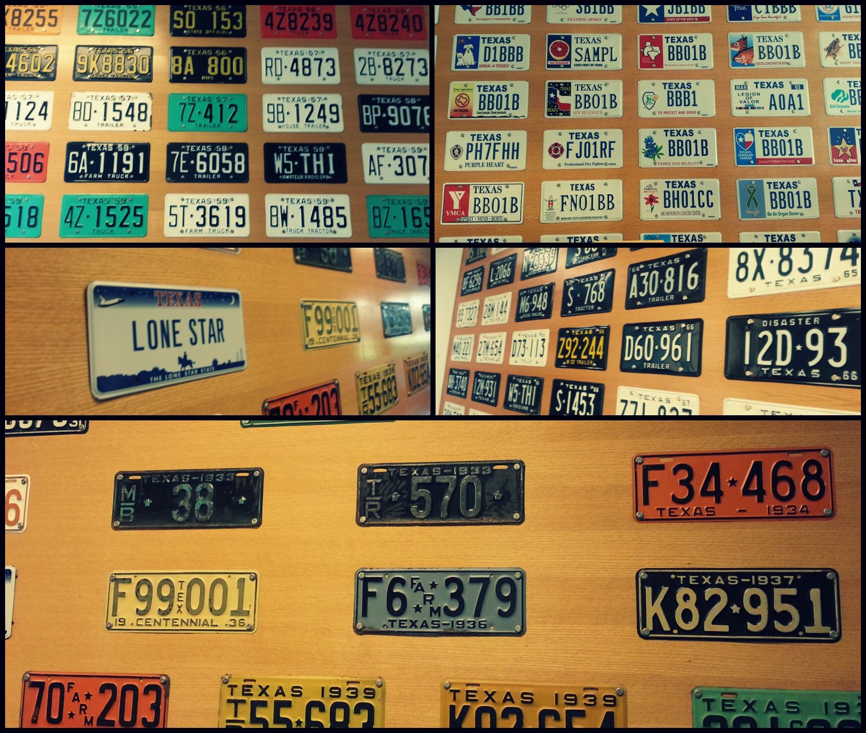 ThrowbackThursday Various license plates from many years are ...