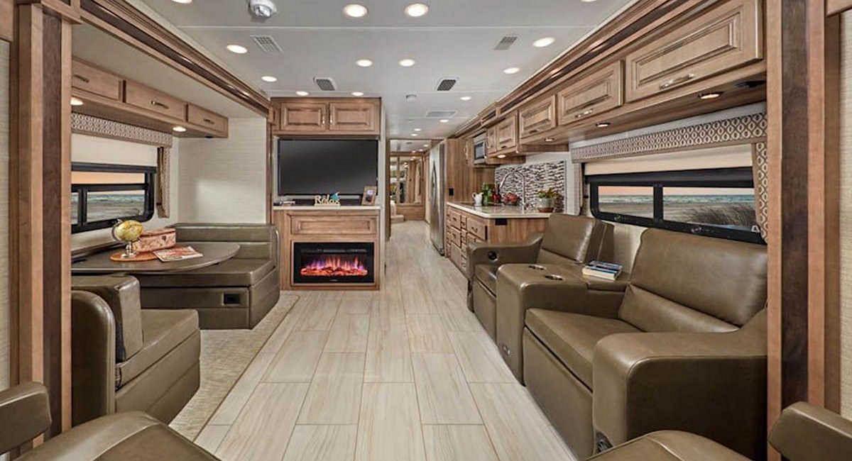 25 Luxury Rv Motorhome Interior Design For Summer Holiday Luxury