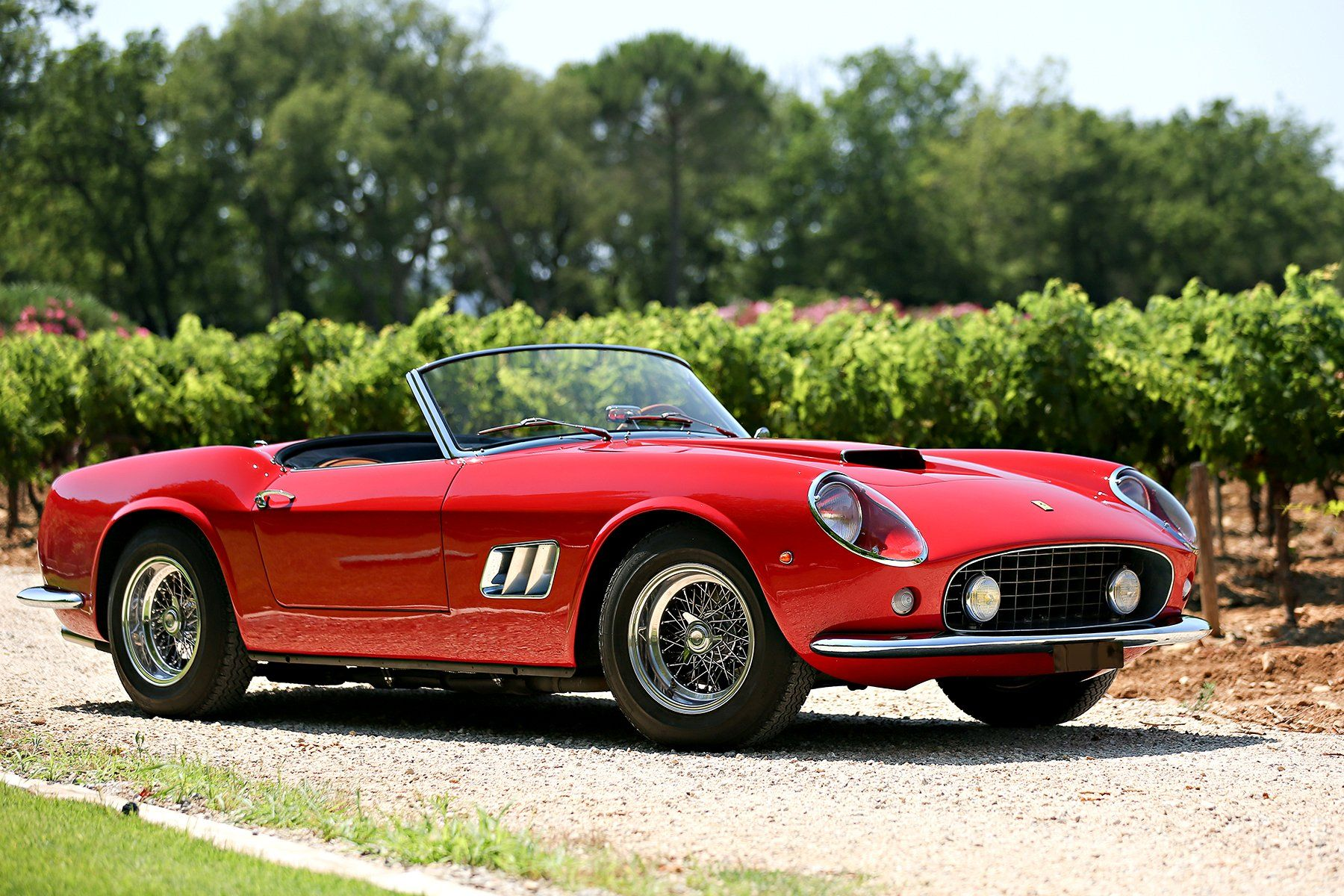 1961 Ferrari 250 Gt Swb California Spyder Expensive Cars Most