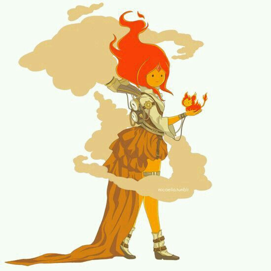 Steampunk Flame princess Adventure Time