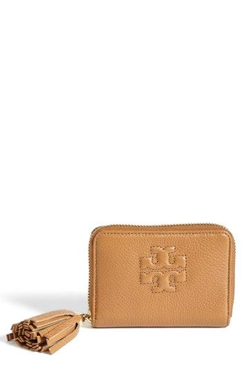 Tory Burch 'Thea' Zip Around Coin Purse available at #Nordstrom