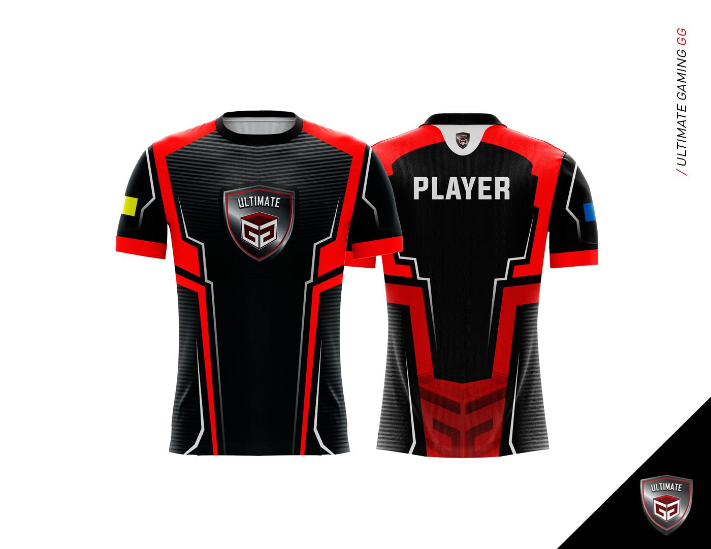 Gaming Jersey 2017 On Behance Logo Keren Desain Logo Desain