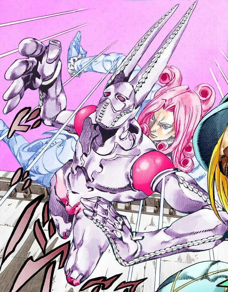 [Fanart]Recolor of Funny Valentine for Valentine's day. : StardustCrusaders