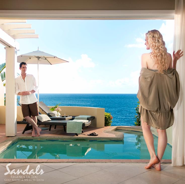 Best Sunset Bluff Oceanfront Two Story One Bedroom Butler Villa 400 x 300