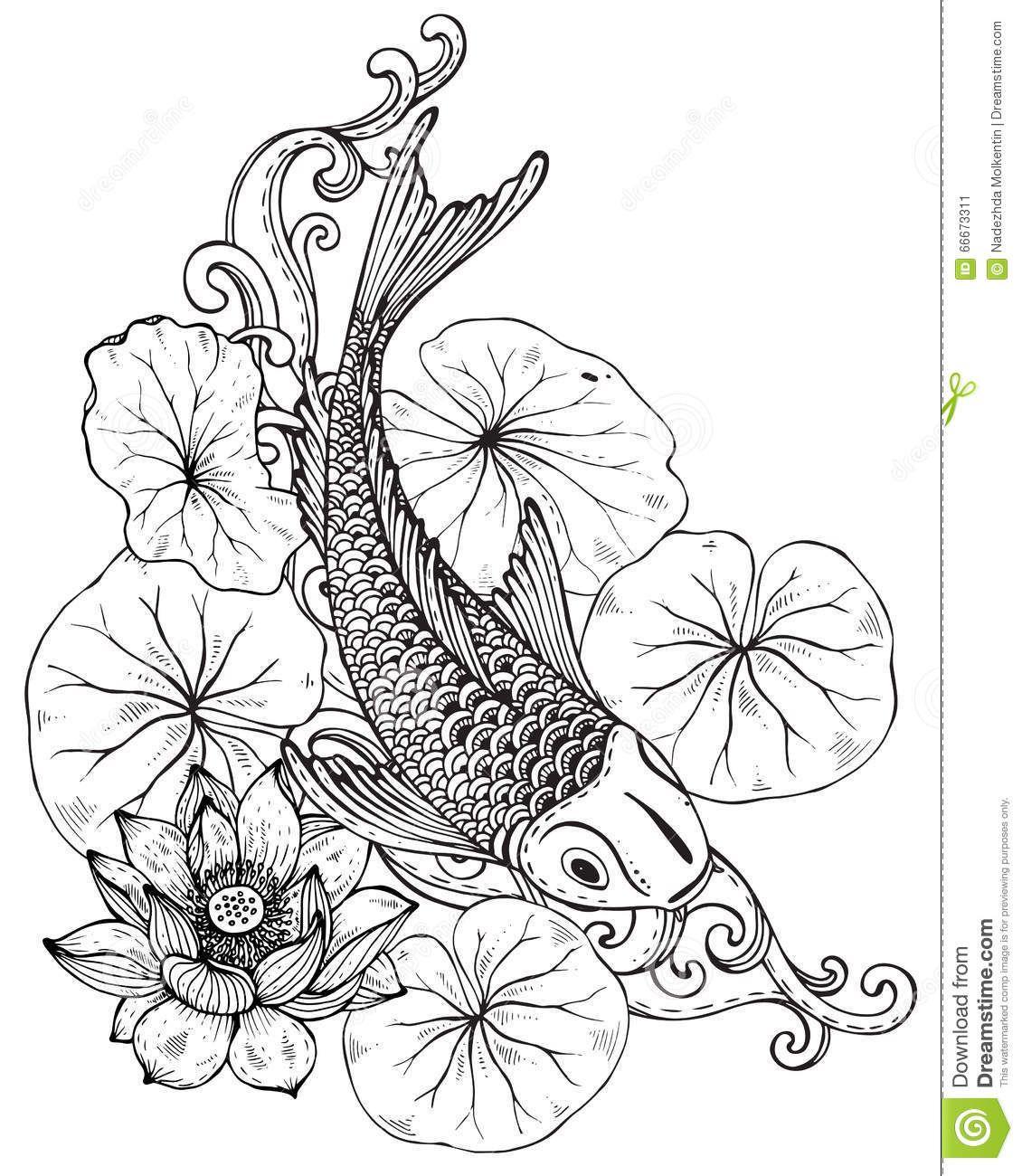 Japanese Flowers Drawings Japanese Lotus Flower Drawing Japanese