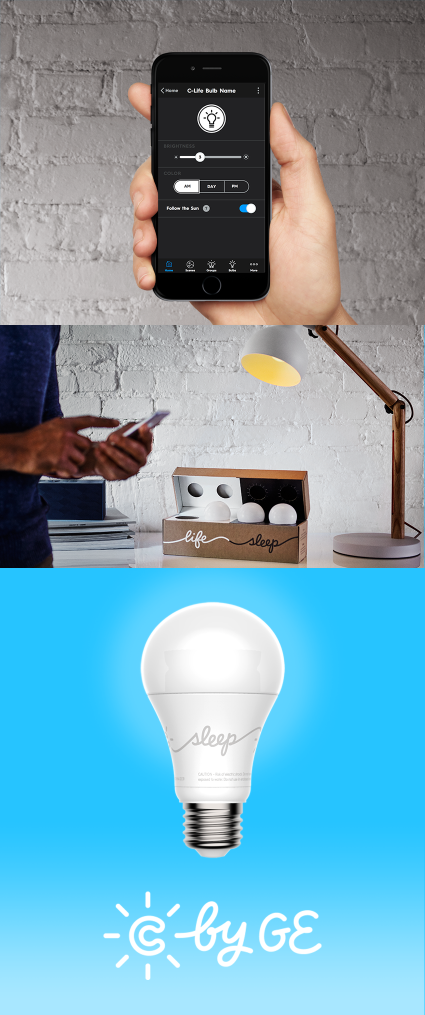 Introducing the first smart no-hub LED light that you can control ...